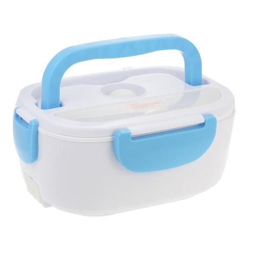 Стильный электрический ящик для ланча Портативный электрический обогреватель Контейнер для пищевых продуктов с ложкой