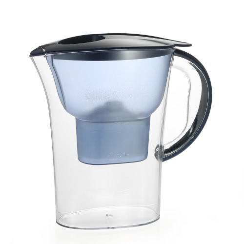 High-end Water Pitcher with 1 Filter BPA Free Filter Kettle Water Jug with Filter Element