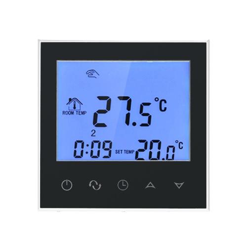 Электрический термостат с сенсорным экраном Smart WIFI Программируемый контроллер температуры с ЖК-дисплеем 16A 200 ~ 240V