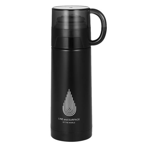 350ml feste Vakuum-Wasser-Schale-Edelstahl-Vakuum-isolierte Wasser-Flasche-Qualitäts-warmer Halten-Wasser-Flaschen-Hitze u. Kalte Erhaltungs-Flaschen-Reise u. Zu-gehen Wasser-Flasche