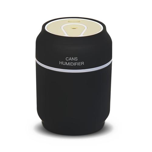 Humidificateur de voiture d'USB de l'humidificateur d'air de 200ML 3 dans 1 mini utilisation de bureau à la maison portative peut humidificateur avec la fan de lumière de nuit USB