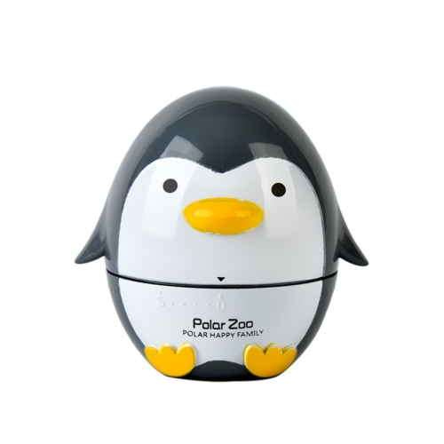 Creative Kitchen Gadget 60-Minute Timer Penguin Kitchen Mechanical Timer
