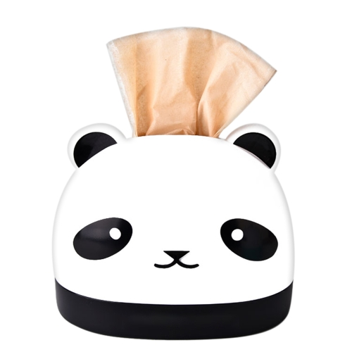 Creative Tissue Box RB281 Słodka Panda Paper Box Restauracja Plastikowa papierowa ręcznik Holder Cover