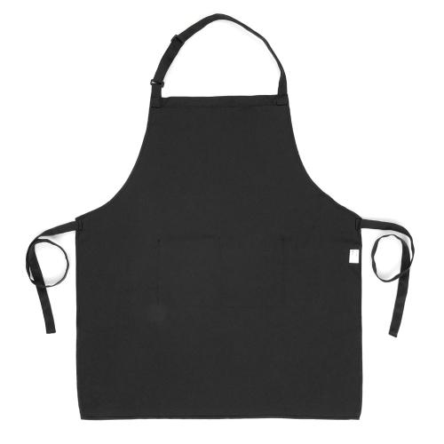 Image of Esonmus Erwachsene Polyester Küche BBQ Restaurant Schürze mit verstellbaren Hals Gürtel 2 Taschen für Kochen Backen Garten für Männer Frauen