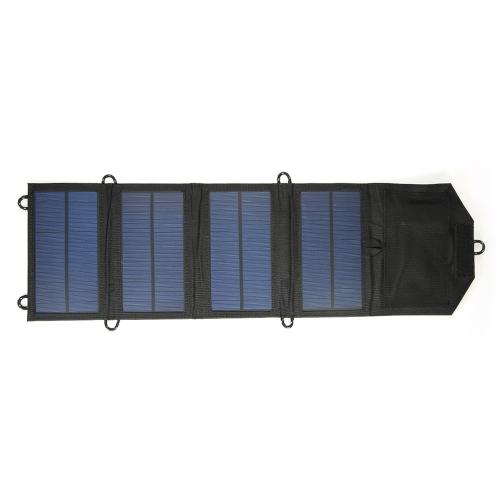 7W 5V Port USB Składana ładowarka do panelu słonecznego Zewnętrzna przenośna ładowarka do telefonu iPhone Mobile