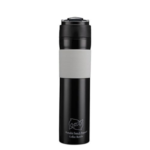 300ML Coffee Pot Outdoor Travel Вакуумный кофе-плунжерная бутылка Портативная герметичная кружка с фильтром