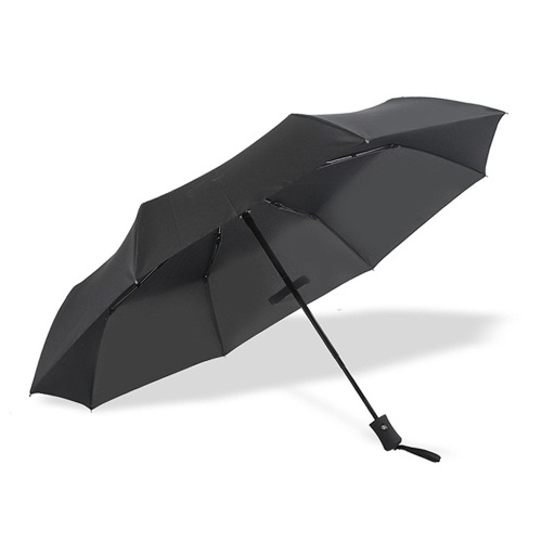 Высококачественный Автоматический Tri-fold Umbrella Мужские и Женские Подарочные Деловые Складные Зонты