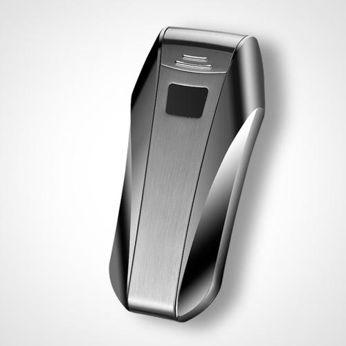 USB перезаряжаемый электронный Hit Fire Machine ветрозащитный беспламенное курить сигареты металла зажигалки двойной дуги и сенсорного зондирования