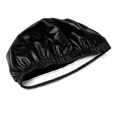 Round Elastic PU Leather Stool Cover