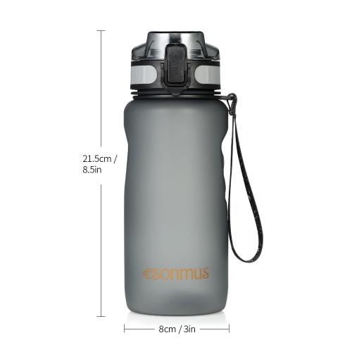 Clean Bottle 22oz BPA Free Sport Water Bottle Easy Clean Gym Cycling Running