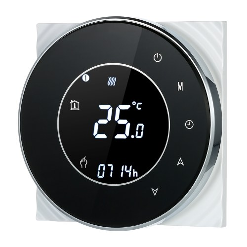 Regulador de temperatura programable del regulador de la calefacción por agua 5A