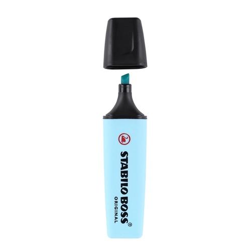 1 pc Stabilo Boss Pastel Color Highlighter Soft Color Writing Marker Chisel Nib Pen
