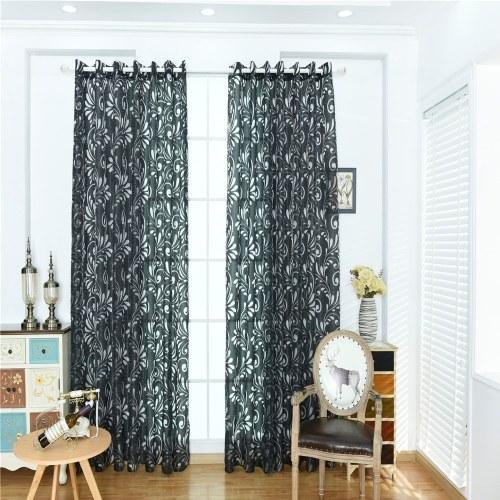 Home Uso Phoenix Tail Pattern Gaze janela de cortina