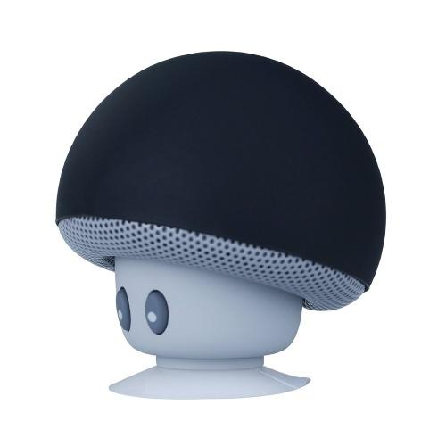 Haut-parleurs stéréo BT Champignon rechargeables USB