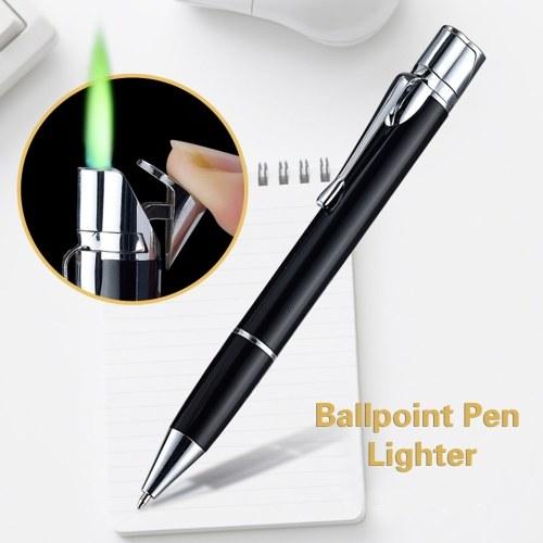 Ball Point Pen Shape Windproof Gas Lighters