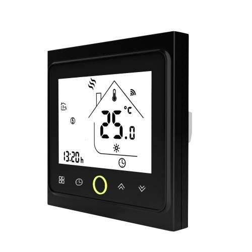 Termostato WiFi com visor LCD com tela sensível ao toque