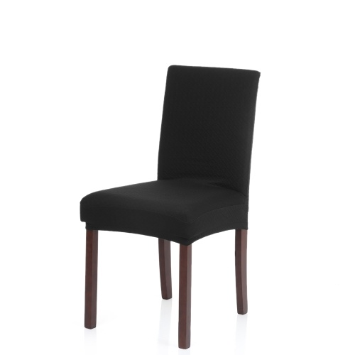 Thick Knit Stretch Removable Washable Dining Chair Cover
