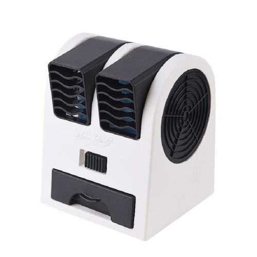 Переносной настольный вентилятор с двойным ветром