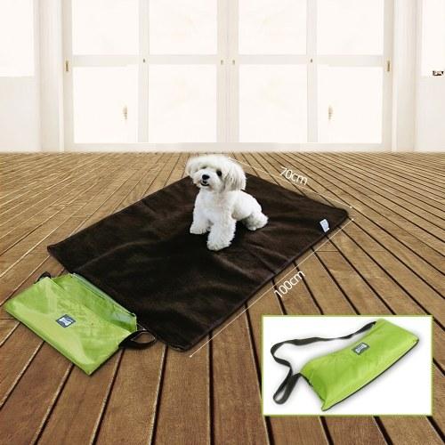 Multi-function Folding Portable Dog Outdoor Blanket