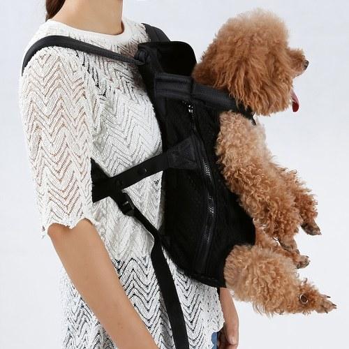 Pet Knapsack Legs-Out Mesh Front Dog Carrier