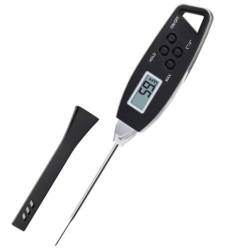 Termómetro digital para alimentos Retroiluminación Lectura instantánea Termómetro para carne