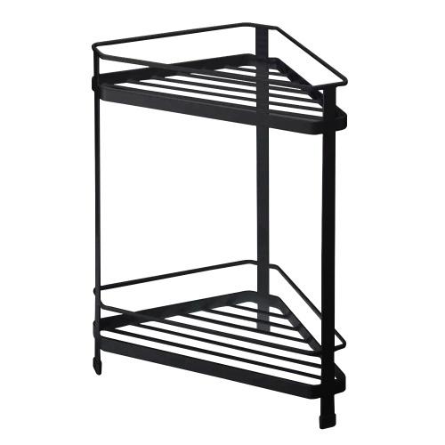 LSF2019019 Rack da pavimento a forma di ventaglio Rack di stoccaggio per treppiede Cucina Bagno Rack a forma di ventaglio ad angolo triangolare Scaffale di stoccaggio a più strati
