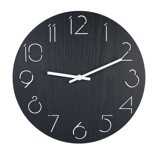 Wall Clock Style Wooden Clock