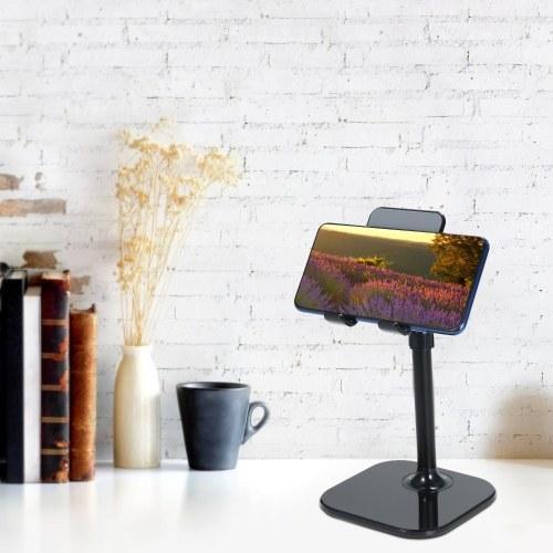 Tablet/Phone Holder Stand for Desk Adjustable Desktop Stand Compatible with Smartphones and Tablets