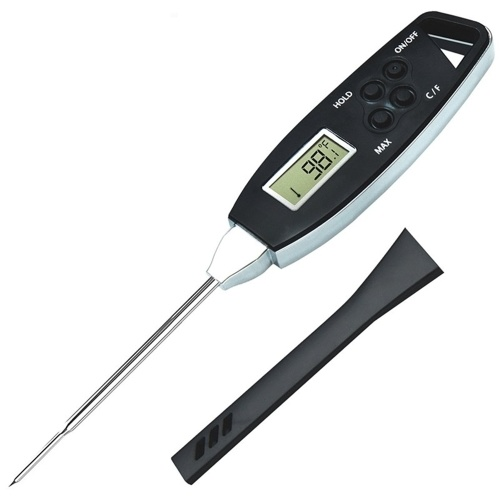 Instant Read Meat Thermometer Waterproof Barbecue Thermometer Pen-probe Food Thermometer for Kitchen Outdoor Cooking BBQ Smoker Milk