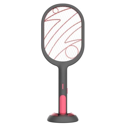 Elektrische Insektenschläger Klatsche Zapper USB wiederaufladbare Mückenklatschen Kill Fly Bug Killer Trap