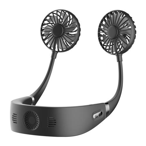Portable Hands Free Neck Fan Mini Rechargeable USB Fan