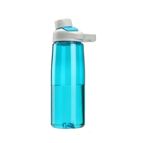 Botella de agua deportiva de 750 ml con tapa magnética