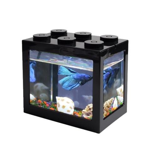 USB Mini Aquarium Desktop LED Aquarium