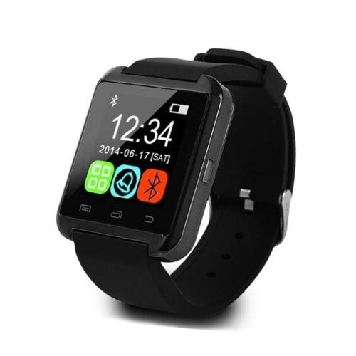 U8 Bluetooth Smart Watch Sport Smartwatch Touchscreen Pedometer Music Player Sleep Monitor Anti-lost for Kids Women Men