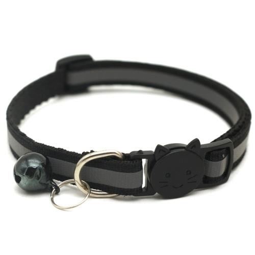 Suministros para mascotas Collar de parche reflectante