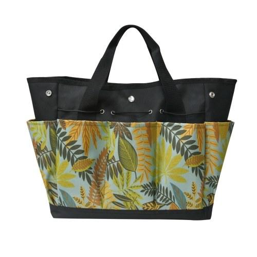 Bolsa para herramientas de jardín con 9 bolsillos