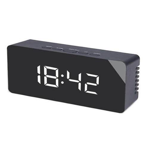 Multi-Functional Mirror Alarm Clock
