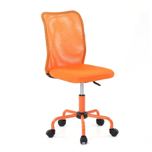 iKayaa Chaise de bureau réglable - Gris clair ou orange