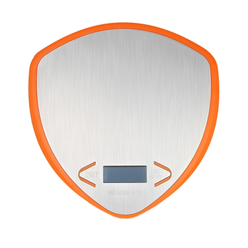 WeiHeng 5KG/1g LED Backlight Digital Kitchen Scale Multifunction Food Scale G/LB/OZ Stainless Steel Weight Balance Tare Function