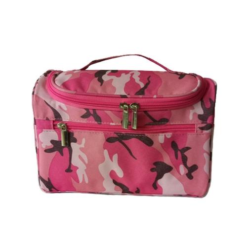 Женщины Путешествия Макияж сумка Многофункциональные косметические сумки Полиэстер Мода Водонепроницаемый хранения Туалетная сумка Организатор Мужчины (темно-синий)
