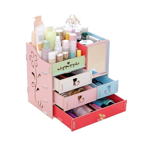 Multifunctional Desktop Storage Box Assembly