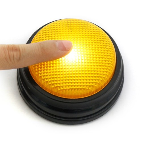 20sの音声録音可能な話すボタンサウンドボタンは、Ledとブザーを応答します。