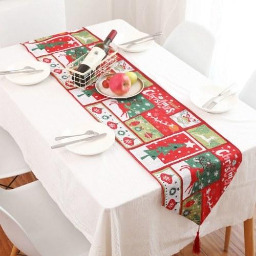 Weihnachten Tischläufer Xams Stuhlhussen