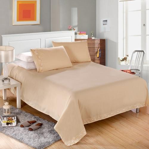 Solide broder Cording 4Pcs Bedding Set équipée feuille lit couverture oreiller cas literie Home Textiles