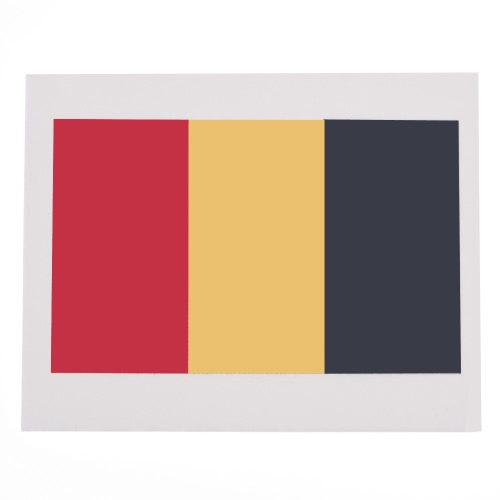 Anself 10шт/набор национального флага временные татуировки тела лица татуировки стикер отечественной татуировки 16 стран факультативного (Бельгия)