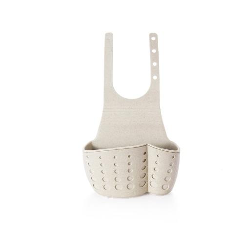 Кухонная раковина Смеситель Висячая сумка Пшеничное волокно Двойная палуба для слива Бак для хранения Стойки для инструментов Инструменты для кухни