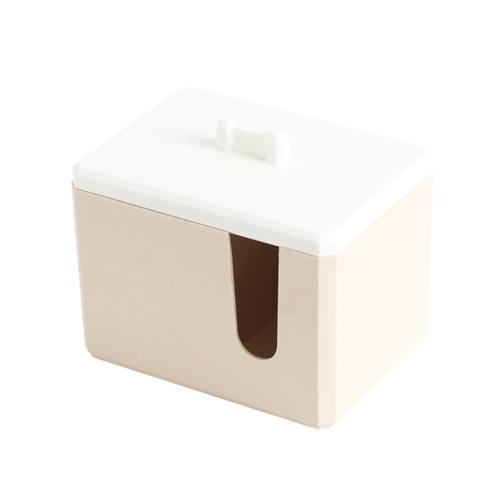 Contenedor de almacenaje de los cojines de algodón de los mini cosméticos de las mujeres