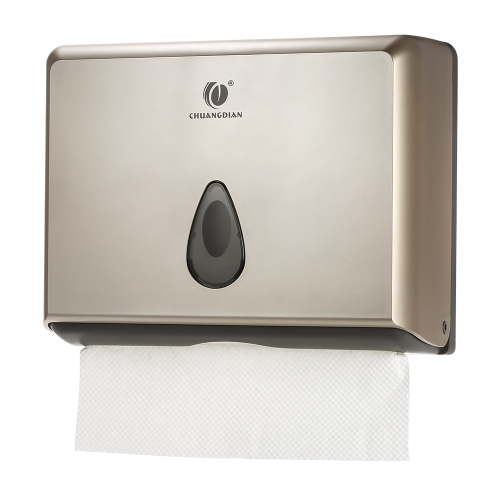 Decdeal CHUANGDIAN Wall-mounted Bathroom Tissue Dispenser Tissue Box Holder for Multifold Paper Towels