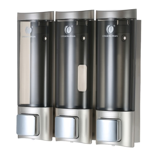 3pcs 200ml CHUANGDIAN Dispensadores de jabón manuales de pared