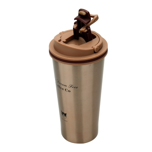 Grumpy Cat Vacuum Cup Утечка 304 из нержавеющей стали Вакуумная колба Подарочная бизнес-чашка кофе